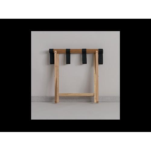 Багажниця дерев'яна натуральна | Готельне обладнання | Hotek Hospitality Group