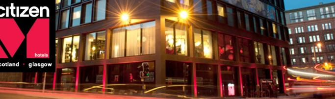 Отель Citizen M,  Глазго