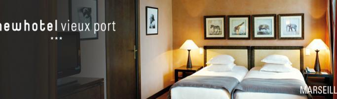 New Hotel  Vieux Port, Марсель